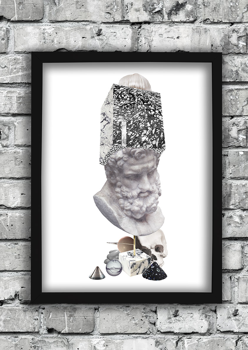 Boxhead-frame-ruthcronefoster-collage-graphic-collagelab-digitalcollage small