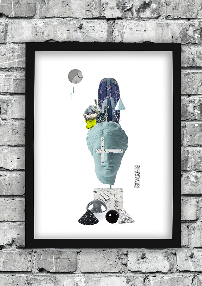 Cactus head-frame-ruthcronefoster-collage-graphic-collagelab-digitalcollage