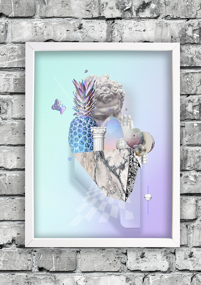 Vaporistic-frame-ruthcronefoster-collage-graphic-collagelab-digitalcollage